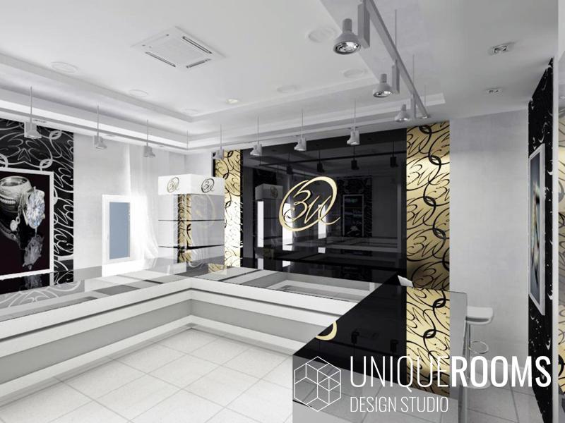 Дизайн проект ювелирного магазина