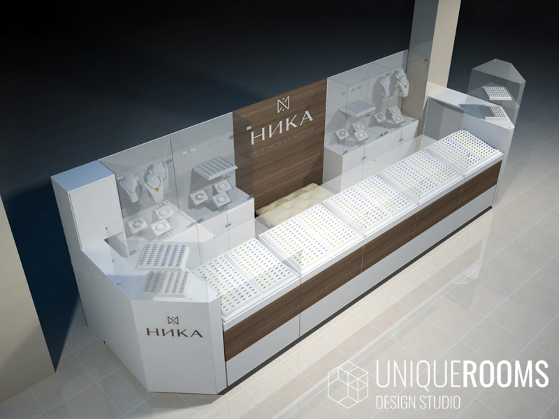 Дизайн интерьера ювелирного салона