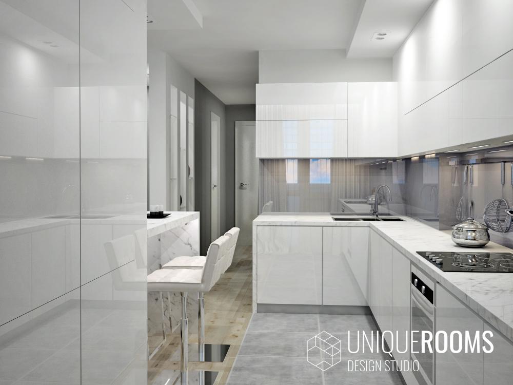 Дизайн проект 2х комнатной квартиры