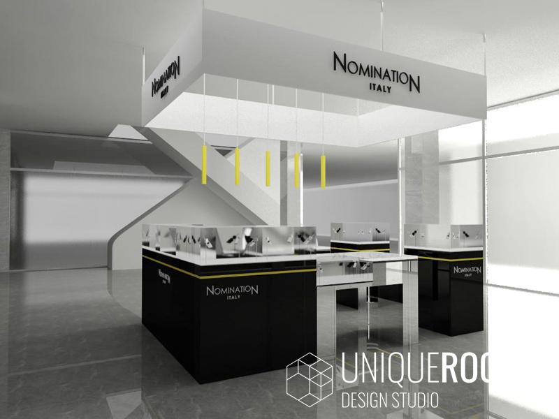 Дизайн проект ювелирного салона