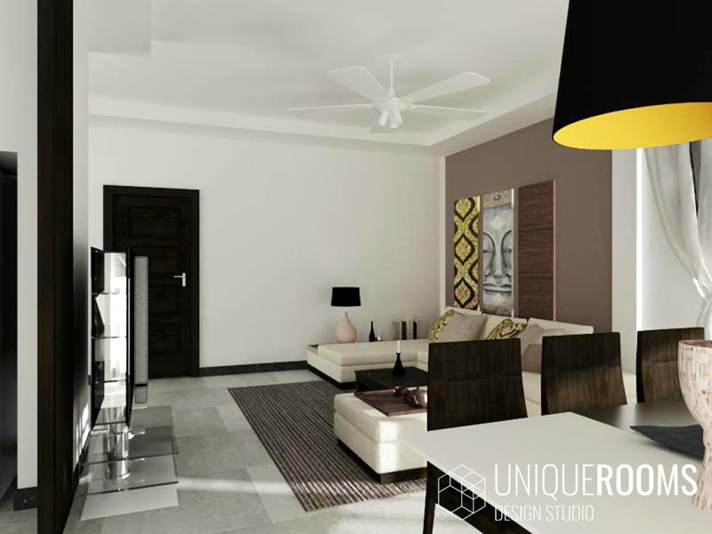Дизайн интерьера виллы в Тайланде