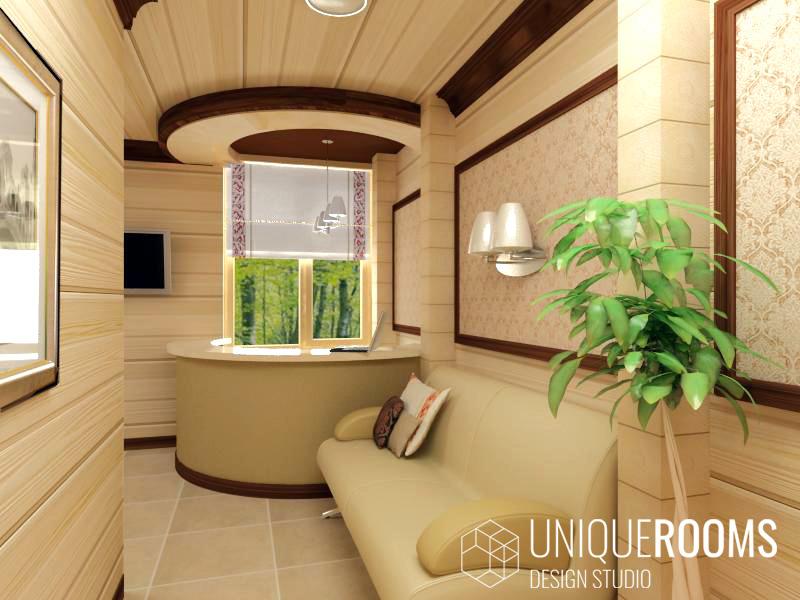 Дизайн интерьера гостиницы